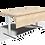 Thumbnail: Table de réunion modulable Moving-T Arteck