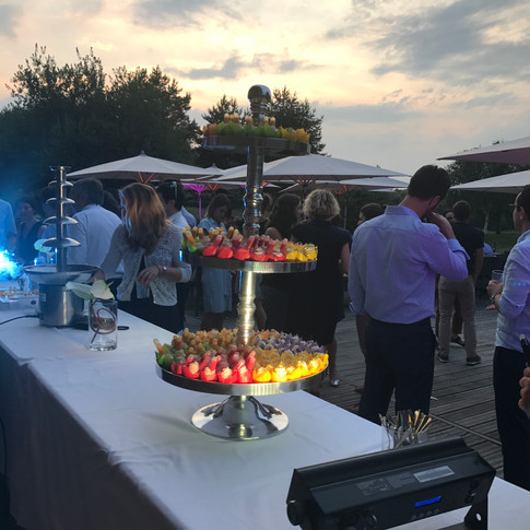 Cocktail dinatoire au Golf Blue Green de Rueil-Malmaison