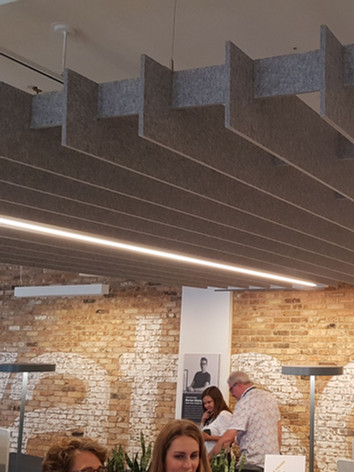 Toile acoustique plafond