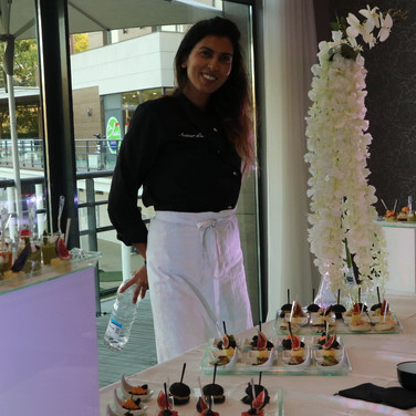 Chef Mounia Fouki