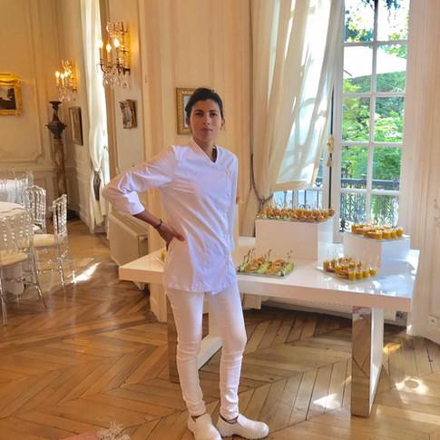 Chef Mounia Fouki