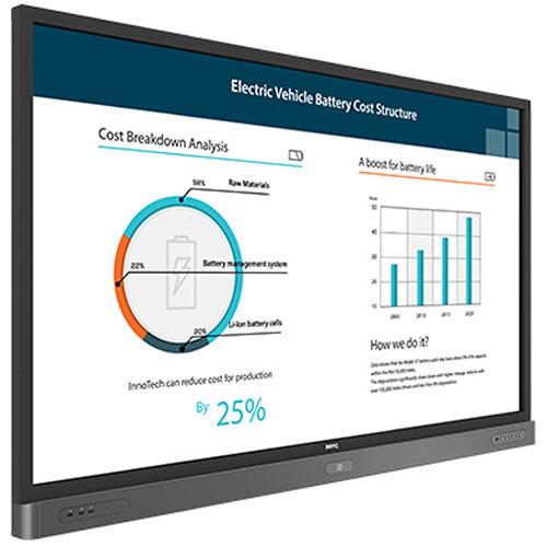 Ecran BenQ Interactive Flat Panel 65'' RP654k
