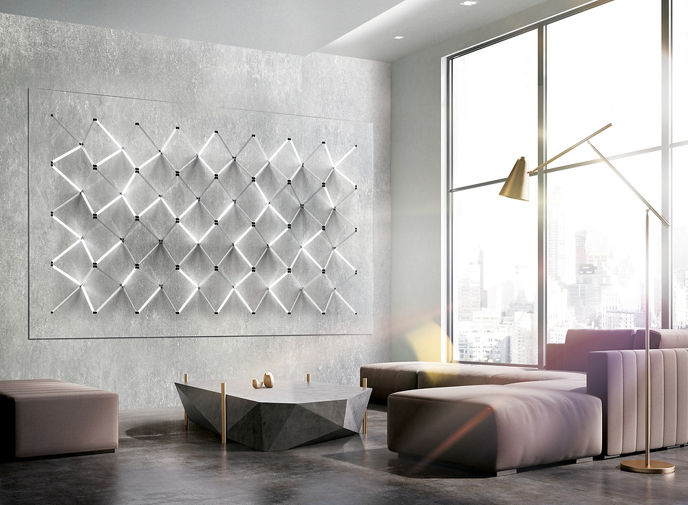 Ecran Samsung The Wall Design