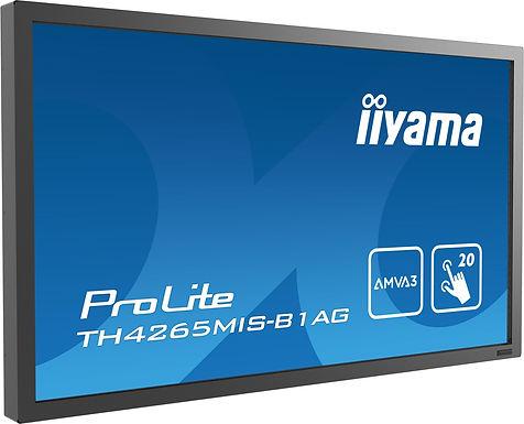 Moniteur tactile LCD/LED IIYAMA TH4265MIS-B1AG
