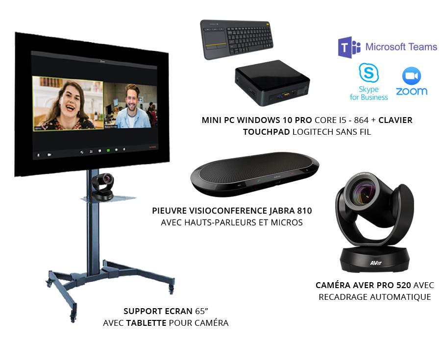 kit équipements visioconférence caméra