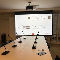 Mise en place d'un couplage de salles pour l'établissement d'un système de conférence