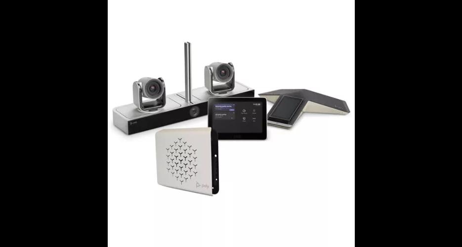Systèmes de Salles Visioconférence Poly G80-Tmpatibles Microsoft Teams Rooms compatibles Microsoft Teams Rooms