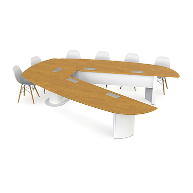 Table de réunion multi-configuration Axeos Nexus