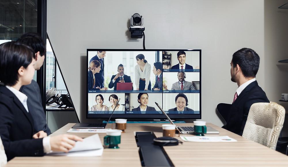 Visioconférence équipements de réunion