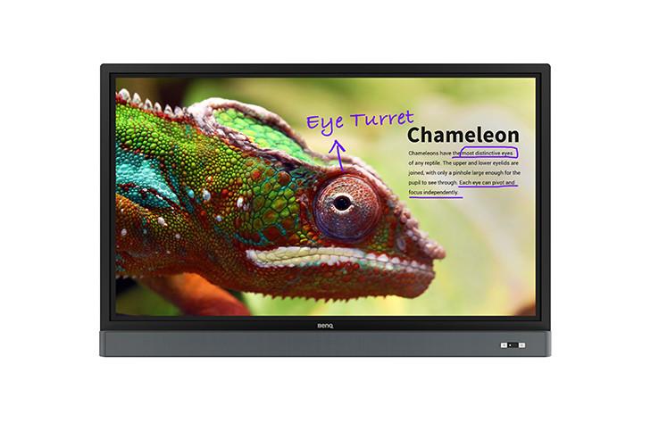 Ecran interactif tactile Benq RM5501K
