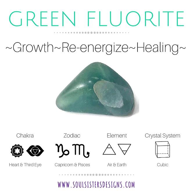 Metaphysical Healing Properties for Green Fluorite