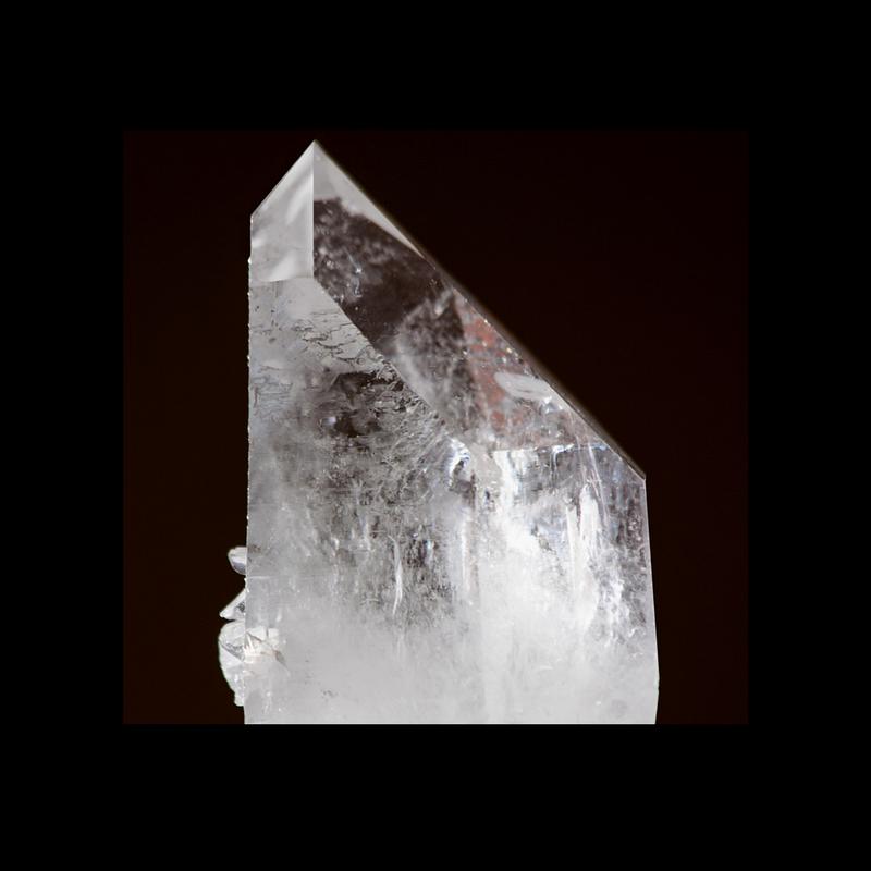 Quartz Crystal demonstrating a vitreous luster