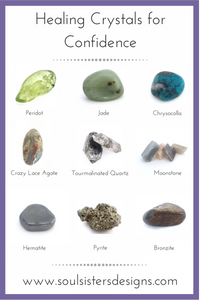 Healing Crystals for Confidence