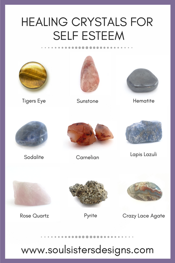 Healing Crystals for Self-Esteem