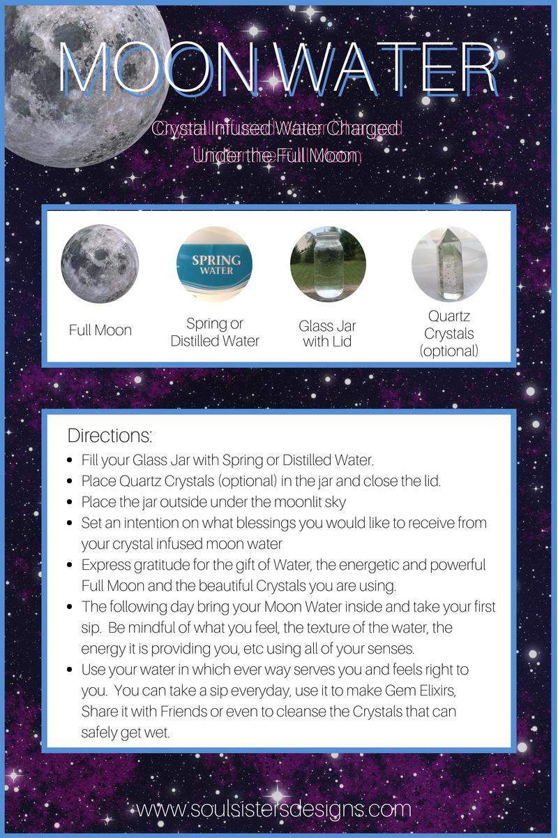 Moon Water Recipe