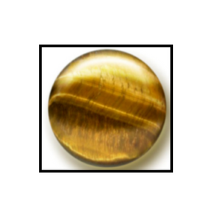 Tigers Eye demonstrating Chatoyancy