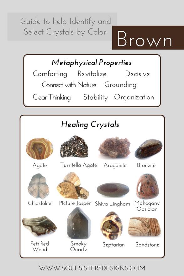 Brown Healing Crystals