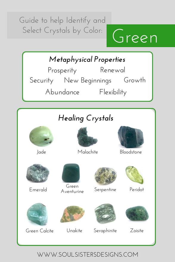 Green Healing Crystals
