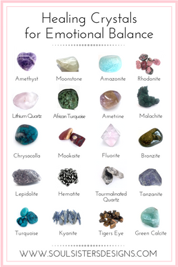 Healing Crystals for Releasing Anger