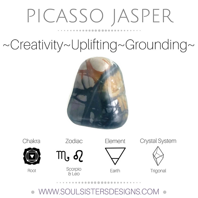 Metaphysical Healing Properties for Picasso Jasper