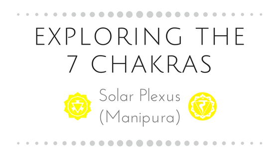 Exploring the 7 Chakras                                                      Part Three: Solar Plexu