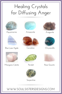 Healing Crystals for Diffusing Anger