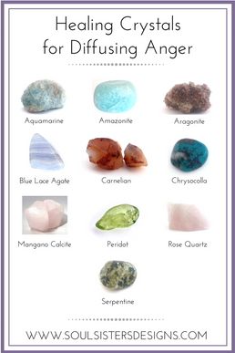 Healing Crystals for Diffusing Anger