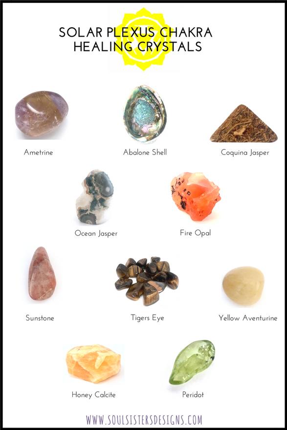 Solar Plexus Chakra Healing Crystals
