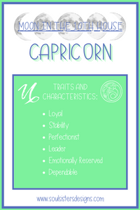 Moon in the 10th House: Capricorn
