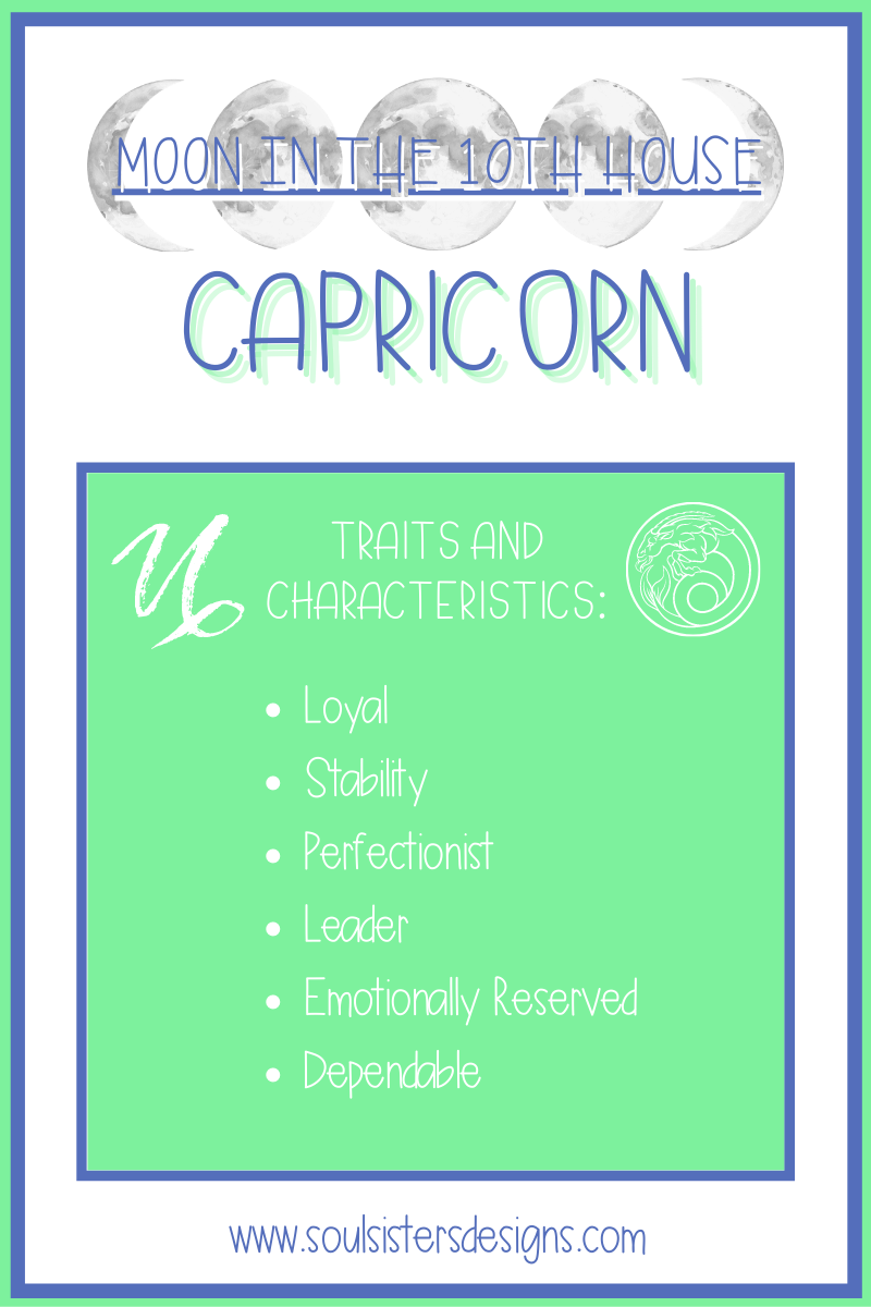 Traits and Characteristics of the Moon in Capricorn