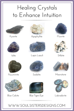 Healing Crystals to Enhance Intuition