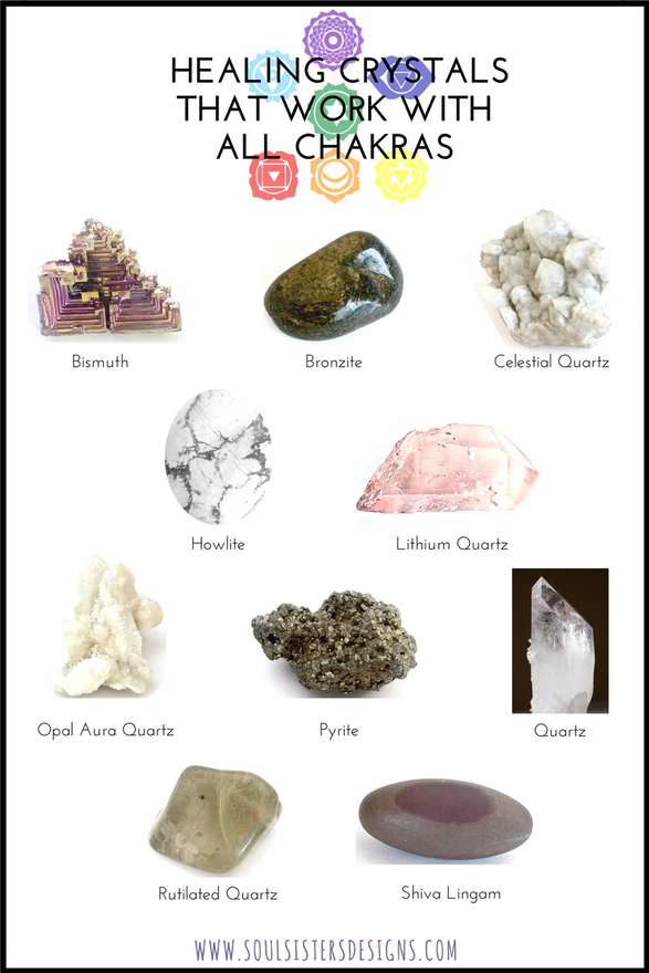 Healing Crystals That Work with All Chakras