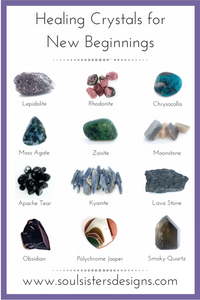 Healing Crystals for New Beginnings