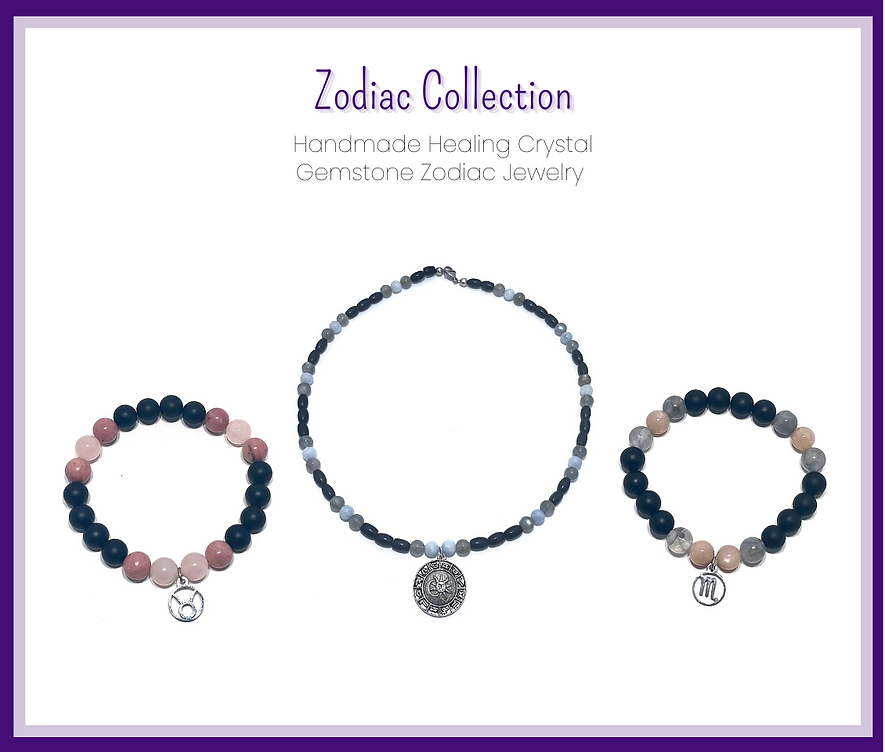 Healing Crystal Gemstone Zodiac Collection by Soul Sisters Designs.png
