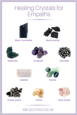 Healing Crystals for Empaths