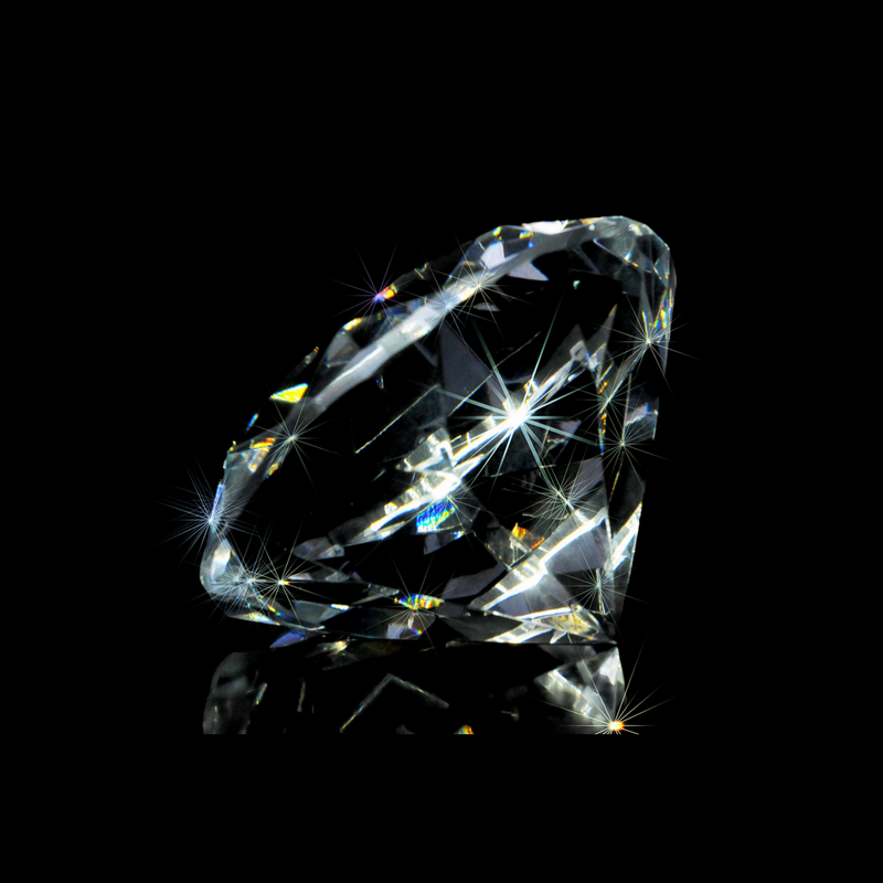 A diamond demonstrating Adamantine luster
