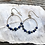 Thumbnail: Lapis Lazuli and Pyrite Hoop Earrings
