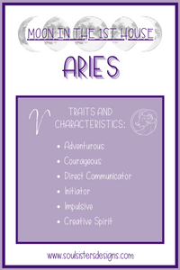 Moon in the 1st House: Aries