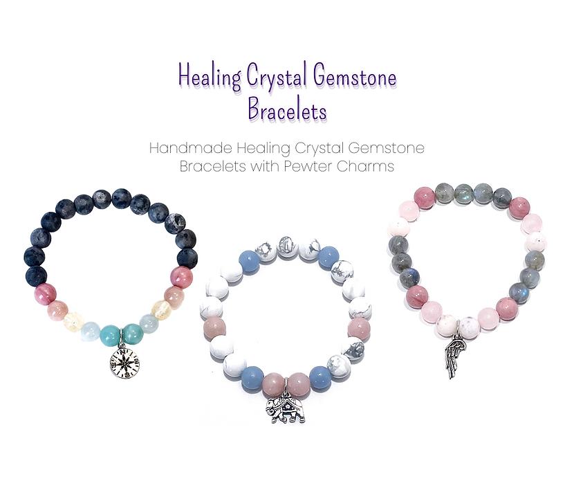 Women's Healing Crystal Bracelet Collection