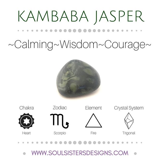 Metaphysical Healing Properties for Kambaba Jasper by Soul Sisters Designs