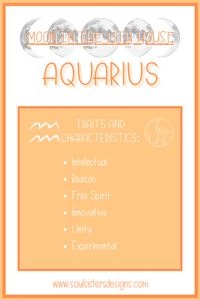 Moon in the 11th House: Aquarius