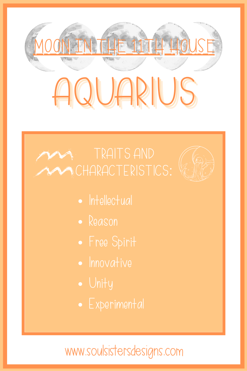 Traits and Characteristics of the Moon in Aquarius