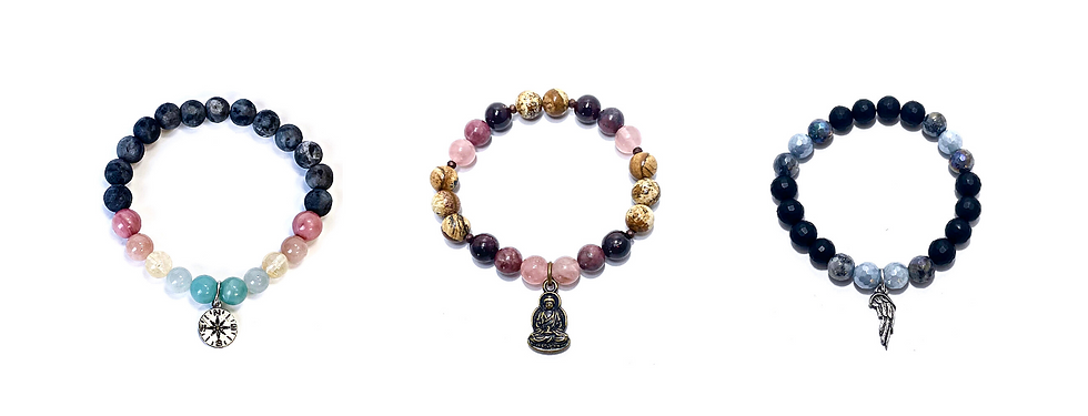 Healing Crystal Bracelets Handmade by Soul Sisters Designs