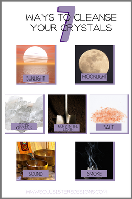 7 ways to Cleanse the Energy of your Crystals