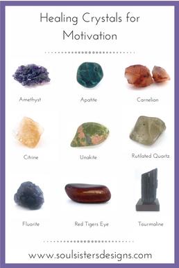 Crystals for Motivation