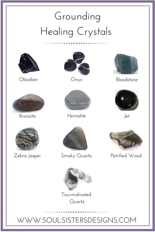 GROUNDING Healing Crystals