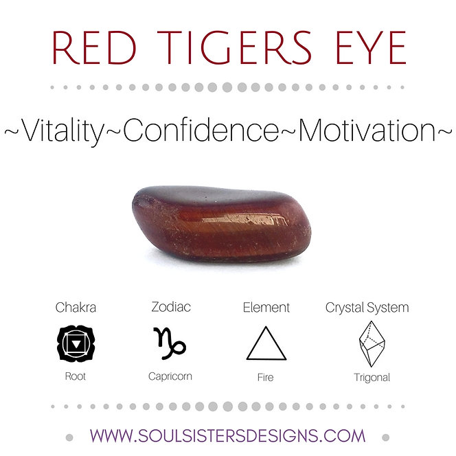 Metaphysical Healing Properties for Red Tigers Eye