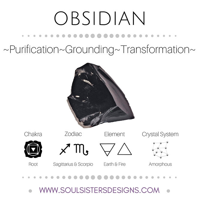 Metaphysical Healing Properties for Obsidian