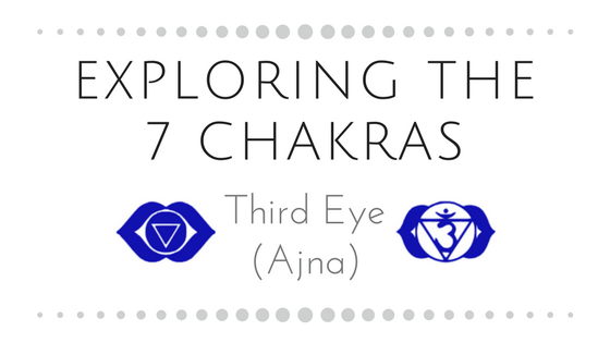 Exploring the 7 Chakras                                                      Part Six: Third Eye (Aj