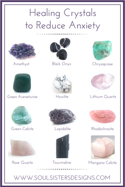 Healing Crystals to Reduce Anxiety